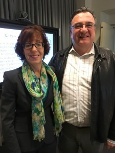 Janice Mueller and Roberto Capriotti at Cincinnati 2016 Seminar